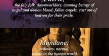 The MortalInstruments and Inferal Devices