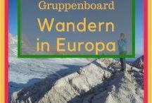 Wandern in Europa // Outdoor- & Reiseblogger Gruppenboard / Ein Guppenboard um die schönsten Wanderungen, Spaziergänge und Klettersteige in Europa zu sammeln. Jeder Outdoor- & Reiseblogger ist herzlich eingeladen hier fleißig mitzupinnen. Folge einfach dieser Pinnwand und schick mir ein Mail an daysweekendsmore@gmail.com. Ich freue mich auf massig tolle Routen und Wandertipps! Let's go!  PS: Bitte wirklich nur Touren & allgemeine Infos zu den Themen wandern, spazieren & klettern - und keine Radtouren, Roadtrips oder Kreuzfahrten. Danke! :)
