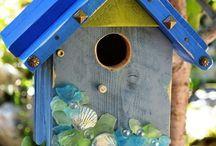 Maisons oiseaux/insectes