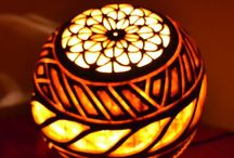 Inspired Gourd Lamps, Amazing Art