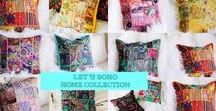 Boho Home Decor, Pillow Covers