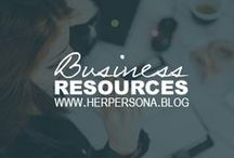 Business Resources / Tips and guides on social media, blogging, and business.
