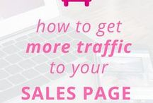 Sales Page Tips / sales page tips | sales page inspiration | sales page design | sales page template | sales page layout | sales page copy | sales page website | sales page examples | sales pages for ebooks | sales pages for courses | sales pages for services | beautiful sales pages | bloggers | blog tips
