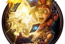 Hearthstone / Hearthstone Game artwork. Heroes of Warcraft, is a free-to-play online collectible card video game developed and published by Blizzard Entertainment.