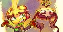 Psychonauts! / What is Psychonauts? The best game ever (In my opinion, at least). I've never played anything like it's so unique and has a TON of charm. 10/10!  (Really excited for Psychonauts 2)!