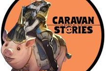 Caravan Stories / Caravan Stories Game Artwork. Caravan Stories is a Japanese cross platform fantasy MMORPG with anime inspired graphics.