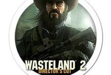 Wasteland 2 / Wasteland 2 gaming artwork. Wasteland 2 is a post-apocalyptic role-playing video game developed by inXile Entertainment.