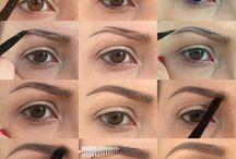 Make Up Application / Make up tools for application & tutorials