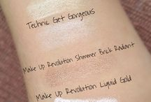 Swatches / Make up swatches
