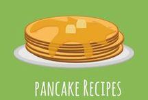 Pancake Recipes | Plant-Based / Pancake recipes, plant-based, some are gluten-free, oil0fee, dairy-free or sugar-free.  Enjoy!