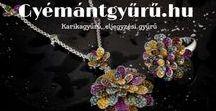 Gyémántgyűrű / Kézzel készített gyémánt és egyéb drágaköves ékszerek, briliáns eljegyzési gyűrűk.