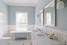 home - bathrooms / by Charleigh Mims
