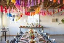STYLING: DECOR / Color, pattern, texture and styling for your event!