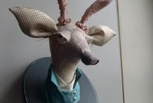 Lapino Handmade  Textile Art - Soft Sculpture - Handmade Toys