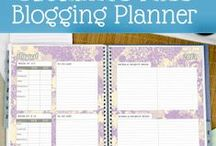 Blogging / Tips for How to Run a Successful Blog - Including: Social Media, Wordpress, Time Management, Planners, etc.