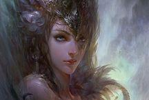 Comic art incredible talent / Fantasy and comic art i like / by David Greenwood