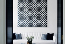 Black and White Interiors / by Sally Britain