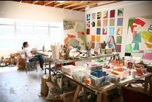 Studio Organizing!