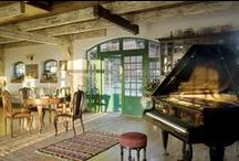 Rustic and traditional style / Charming rustic and traditional interiors <3