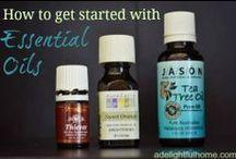 Essential Oils / How to Use Essential Oils