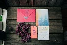 WEDDING INVITATIONS / Beautiful wedding invitations and stationary for weddings and parties!