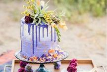 WEDDING CAKES + DESSERTS / All the delicious wedding cakes, cupcakes, pies, and other desserts beautifully styled for your big day.