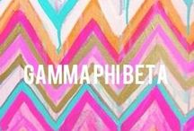 Under The Cresent Moon / Gamma phi Beta / by Danielle Tolliver