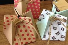Box, paper, origami