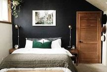SNUGGLY BEDROOMS / These bedroom ideas make us want to snuggle up and stay in bed all day. Use them to create yourself a comfy and cosy haven. #bedroomideas #bedroomdecor #bedrooms