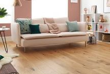NATURAL WOOD FLOORING / Timless, elegant, unique. Nothing gives a space that warm, comfortable feeling quite like a beautiful wood floor. Take a closer look with free samples from our website. #woodflooring #woodfloors