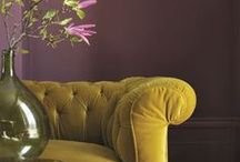 VELVET LUXE / Is there anything better than velvet? Bring some soft luxe into your home with these ideas.