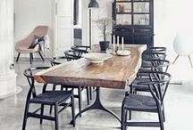 MODERN RUSTIC / Casual but elegant, textured but smooth. The modern rustic trend is a beautiful marriage of opposites. Discover these ideas to bring the loveable look into your home. #modernrustic
