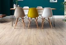 LAMINATE FLOORING / Laminate flooring designs that are inspired by the seaside and offer a relaxing retreat. Take a closer look with free samples from our website. #laminateflooring #laminate