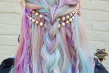 Hair styles an colours