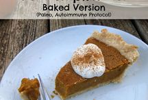 Dairy free, gluten free holiday foods / Allergy friendly