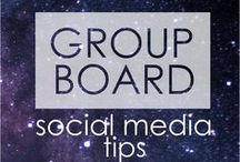 Social Media Tips - GROUP BOARD / BRAND NEW BOARD! :D Social Media Strategies | Pinterest | Twitter | Instagram | Facebook | Social Media Marketing | 5 pins a day - please stick to the topic! :)  If you want to join, follow @lemonorangelime on Pinterest and email me: lemonorangelimeblog@gmail.com