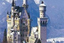 Schlösser, Burgen D