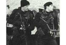 aes: the Russian way / kill if necessary // the man from u.n.c.l.e. aesthetics mood board // Illya, Solo & Gaby