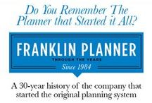 Infographics / FranklinPlanner infographics to share advice and tips on how to be organized and a successful planner.