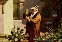Carl Spitzweg / Carl Spitzweg (1808–1885) German romanticist (biedermeier) painter and poet.