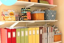 Organize Creative Spaces / Organize your most creative and favorite spaces to allow you to truly be inspired.