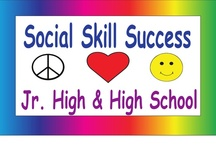 Social Skills Success for Jr. High and High School / This is a collaborative board.  Please post social skills lessons or ideas for jr. high and high school students.