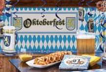 Oktoberfest Costumes and Party Ideas / It's Oktoberfest! Time to dress up in your best Bavarian leiderhausen! Check out our great selection of costumes for men and women, as well as a full range of party supplies and tableware to get your party started!