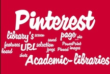 ACRL2013: Academic / This board features a selection of academic libraries using Pinterest.  Pinned images are screen shots saved as jpegs & uploaded to Pinterest; the URL of each library's Pinterest page has been added to the image link (usurping uploaded by user designation).  New entries are pinned using Snapito! Please contact me if you would like your page removed.