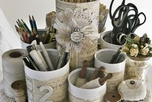 Craft Room / All things crafty, DIY, handmade, How-to...