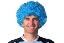State of Origin / Support your state with our fabulous accessories! Grab a wig and some face-paint and cheer on  your team for the thrilling decider match! #uptheblues #gothemaroons