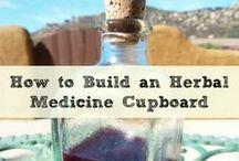 Natural First Aid & Herbal Medicine / Herbal Medicine Chest, Herbal Medicine Cupboard, natural first aid, home remedies, healing at home... (do your own research!)