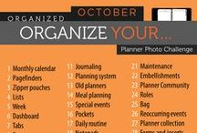 Organized October / Organizing tips for each day of the month.
