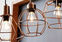 home lighting ideas / favorite lighting looks for the home inspired by old farmhouses with a bit of industrial vintage thrown in for good measure. Part of #CreatewithCree