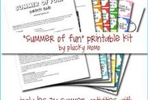 Homeschool Holidays-Summer:June, July, August / Holidays for summer / by Tiffany Gaskin